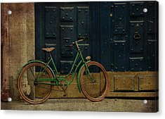 Antique Bicycle 1c Acrylic Print by Andrew Fare