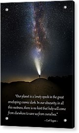 Anybody Out There Acrylic Print by Bill Wakeley