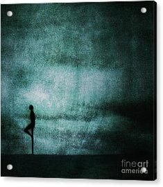 Approaching Dark Acrylic Print by Andrew Paranavitana