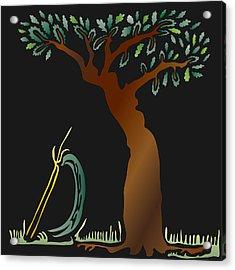 Arbor Scene Acrylic Print by Kevin McLaughlin