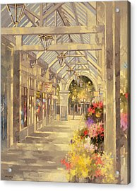 Arcade Acrylic Print by Peter Miller
