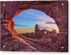 Temple Of Inspiration Acrylic Print by Mikes Nature