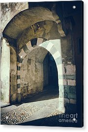 Arched Passage Acrylic Print by Silvia Ganora