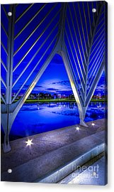 Arches At Sunset Acrylic Print by Marvin Spates