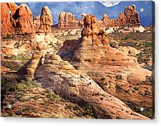 Arches Landscape 8 Acrylic Print by Marty Koch