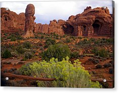 Arches Park 1 Acrylic Print by Marty Koch