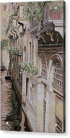 architetture di  Venezia Acrylic Print by Guido Borelli