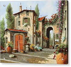 Arco Finale Acrylic Print by Guido Borelli