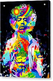 Are You Experienced? Acrylic Print by Callie Fink