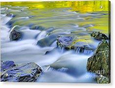 Argen River Acrylic Print by Silke Magino