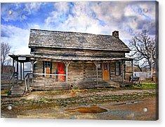 Arkansas Vintage 2 Acrylic Print by Marty Koch