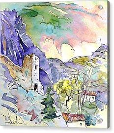 Arnedillo In La Rioja Spain 03 Acrylic Print by Miki De Goodaboom