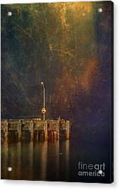 Arrival Acrylic Print by Russ Brown