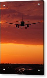 Arriving At Day's End Acrylic Print by Andrew Soundarajan