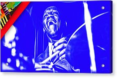 Art Blakey Collection Acrylic Print by Marvin Blaine