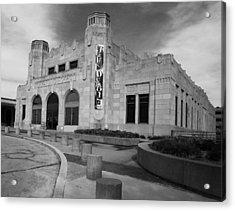 Art Deco Depot Acrylic Print by William Oswald
