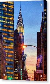 Art Deco Acrylic Print by JC Findley