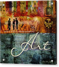 Art Acrylic Print by Evie Cook
