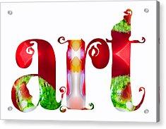 Art For The Holidays By Omashte Acrylic Print by Omaste Witkowski