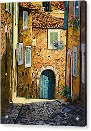 Arta-mallorca Acrylic Print by Guido Borelli