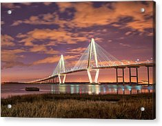 Arthur At Night Acrylic Print by Donnie Smith