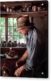 Artist - Potter - The Potter IIi Acrylic Print by Mike Savad