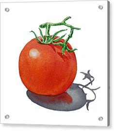 Artz Vitamins Tomato Acrylic Print by Irina Sztukowski