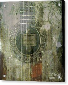 As In The Classical Measure Of Time Acrylic Print by Steven  Digman