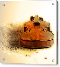 As Sound Fossils  Acrylic Print by Steven  Digman