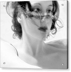 Ascension - Self Portrait Acrylic Print by Jaeda DeWalt