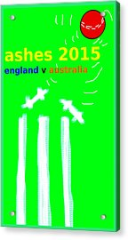 Ashes Poster  Acrylic Print by Paul Sutcliffe