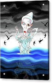Ashes To Ashes Acrylic Print by Andrew Hitchen