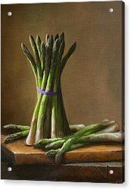 Asparagus  Acrylic Print by Robert Papp