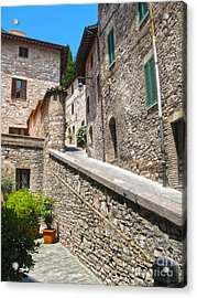 Assisi Italy Acrylic Print by Gregory Dyer