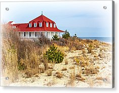At Cape May Point Acrylic Print by Carolyn Derstine