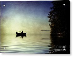 Acrylic Print featuring the photograph At Peace by Joel Witmeyer