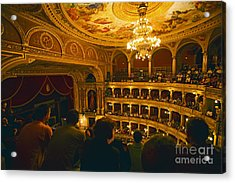 At The Budapest Opera House Acrylic Print by Madeline Ellis