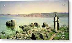 At The Sea Of Galilee Acrylic Print by Vasilij Dmitrievich Polenov
