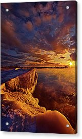 At World's End Acrylic Print by Phil Koch
