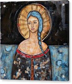 Athena Acrylic Print by Rain Ririn