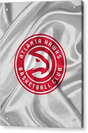 Atlanta Hawks Acrylic Print by Afterdarkness