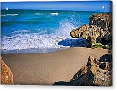 Atlantic Beach Acrylic Print by Robert Smith