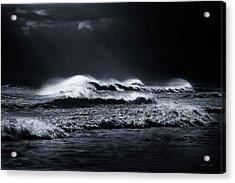 Atlantic Ocean Acrylic Print by Dapixara Art