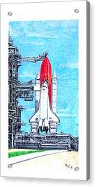 Atlantis Acrylic Print by Murphy Elliott
