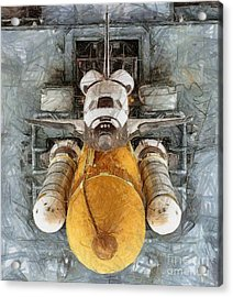 Atlantis Sleeping Giant Acrylic Print by Murphy Elliott