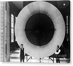 Atmospheric Wind Tunnel 1, 1920s Acrylic Print by Science Source