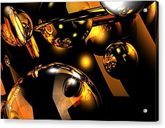 Atomic Acrylic Print by Charlie Spear