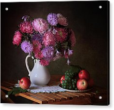 August Gifts Of The Garden Acrylic Print by ??????? ????????