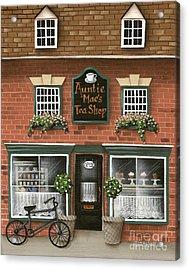 Auntie Mae's Tea Shop Acrylic Print by Catherine Holman