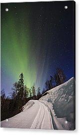 Aurora Rising Acrylic Print by Ed Boudreau